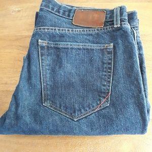 Men's Banana Republic Straight Leg Blue Jeans